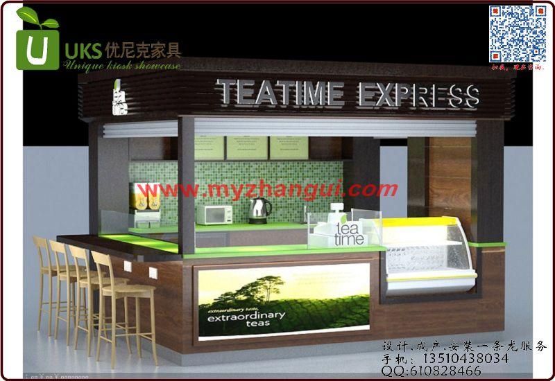 茶叶展示场地平面设计图